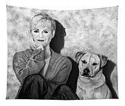 Bonnie Hunt And Charlie Tapestry
