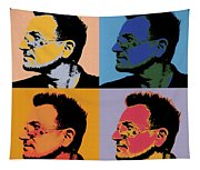 Bono Pop Panels Tapestry