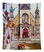 Bonsecours Church Tapestry