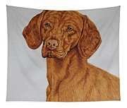Boomer The Vizsla Tapestry