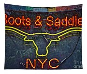 Boots And Saddle Nyc Tapestry