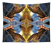 Boots Kaleidoscope Tapestry