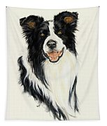 Border Collie Tapestry