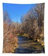 Bosque De Rio De Taos Tapestry