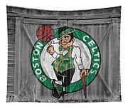 Boston Celtics Barn Doors Tapestry