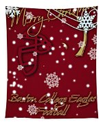 Boston College Eagles Christmas Card Tapestry
