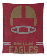 Boston College Eagles Vintage Football Art Tapestry