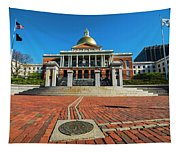 Boston Freedom Trail To State House Boston Ma Tapestry