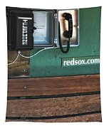 Boston Red Sox Dugout Telephone Tapestry