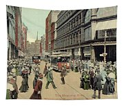 Boston: Washington Street Tapestry
