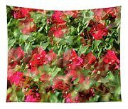Bougainvillea Repeating Pattern Abstract I Tapestry