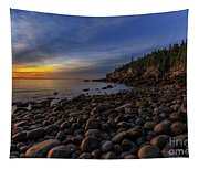 Boulder Beach Sunrise Tapestry