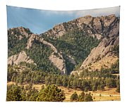 Boulder Colorado Rocky Mountain Foothills Tapestry