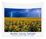 Boulder  County Colorado Tapestry