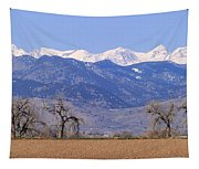 Boulder County Colorado Panorama Tapestry