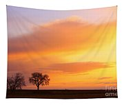 Boulder County Sunrise Tapestry