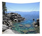 Boulder Cove On Lake Tahoe Tapestry