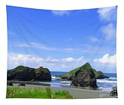 Boulders In Oregon Tapestry