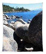 Boulders On Lake Tahoe Tapestry