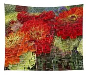 Bouquet Of Colors Tapestry