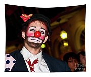 Bourbon Street Clown Mime Tapestry