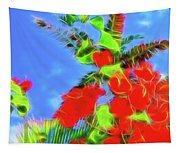 Bougainvillea Glow Tapestry