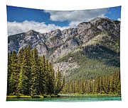 Bow River Banff Alberta Tapestry
