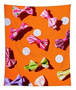 Bow Tie Party Tapestry