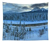 Bow Valley River Giant Panorama Tapestry