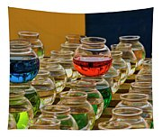 Bowls Full Of Color Tapestry