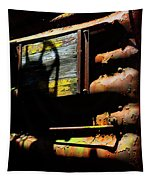 Boxcar Past Its Time Tapestry