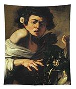 Boy Bitten By A Lizard, 1596 To 97 Tapestry