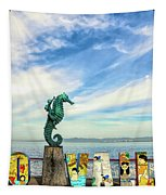 Boy On The Seahorse Tapestry