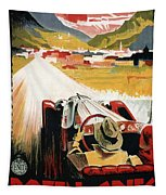 Bozen-gries - Dolomiten - Bolzano-gries - Retro Travel Poster - Vintage Poster Tapestry