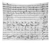 Brahms Manuscript Tapestry