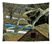 Brandywine Springhouse Tapestry