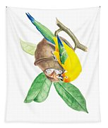 Brazilian Parrot Tapestry