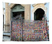 Brazilian Wish Ribbons Tapestry