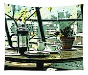 Breakfast Coffee Table Tapestry