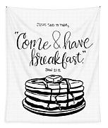 Breakfast Tapestry