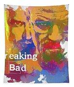 Breaking Bad Watercolor Tapestry
