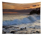 Brennecke Waves Sunset Tapestry