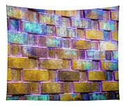 Brick Wall In Abstract 499 S Tapestry