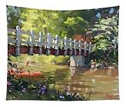 Bridge At Ellicott Creek Park Tapestry