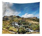 Bridge At Snowdonia Tapestry