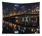 Bridge In The Heart Of Pittsburgh Tapestry