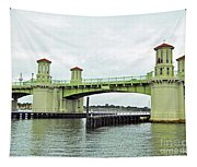 Bridge Of Lions From The Water Tapestry