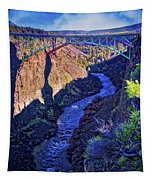 Bridge Over The Crooked River Gorge Tapestry