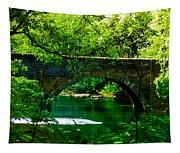 Bridge Over The Wissahickon Tapestry
