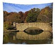 Bridge Reflection Tapestry